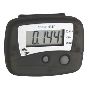 Step Electronic Pedometer By Symple Stuff