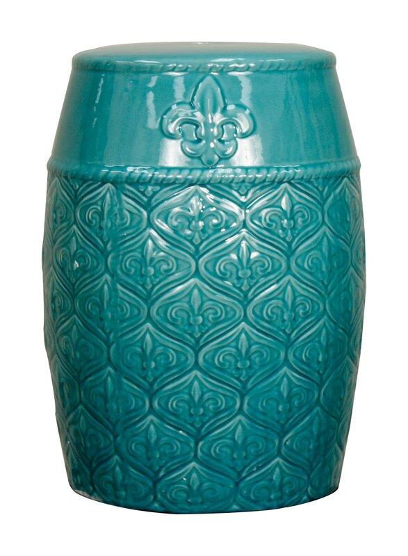 Spear Ceramic Garden Stool