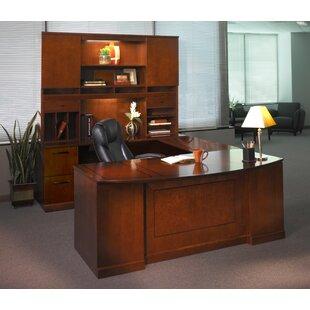 Sorrento Series U-Shape Executive Desk with Hutch