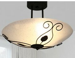 2-Light Semi-Flush Mount by Ca..