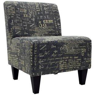 Williston Forge Bluebell Slipper Chair