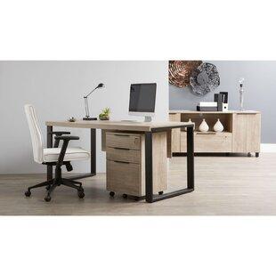 Ebern Designs Albin 3 Piece Office Suite
