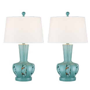 Resendez Transitional Coastal 25 Table Lamp (Set of 2)