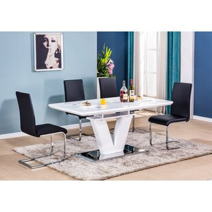 Boland Extendable Dining Set With 6 Chairs (Set Of 7) By Wade Logan