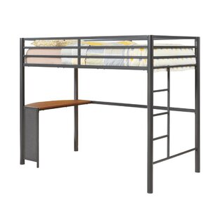 Cragmont Twin Workstation Loft Bed by Harriet Bee