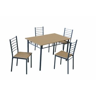 Tony Dining Table And 4 Chairs By 17 Stories