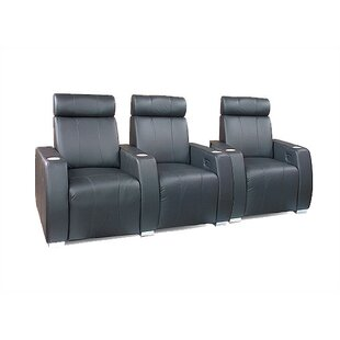 Executive Home Theater Seating (Row of 3) by Bass