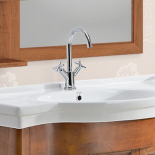 Ancona Prima Standard Bathroom Faucet with Optional Deck Plate Image