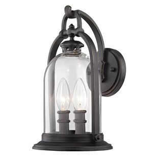 Best Reviews Reyna 2-Light Outdoor Wall Lantern By Darby Home Co