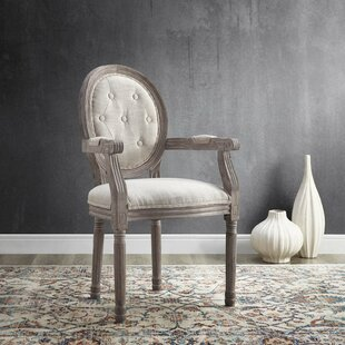 Vibbert Vintage French Upholstered Dining Chair Ophelia & Co.