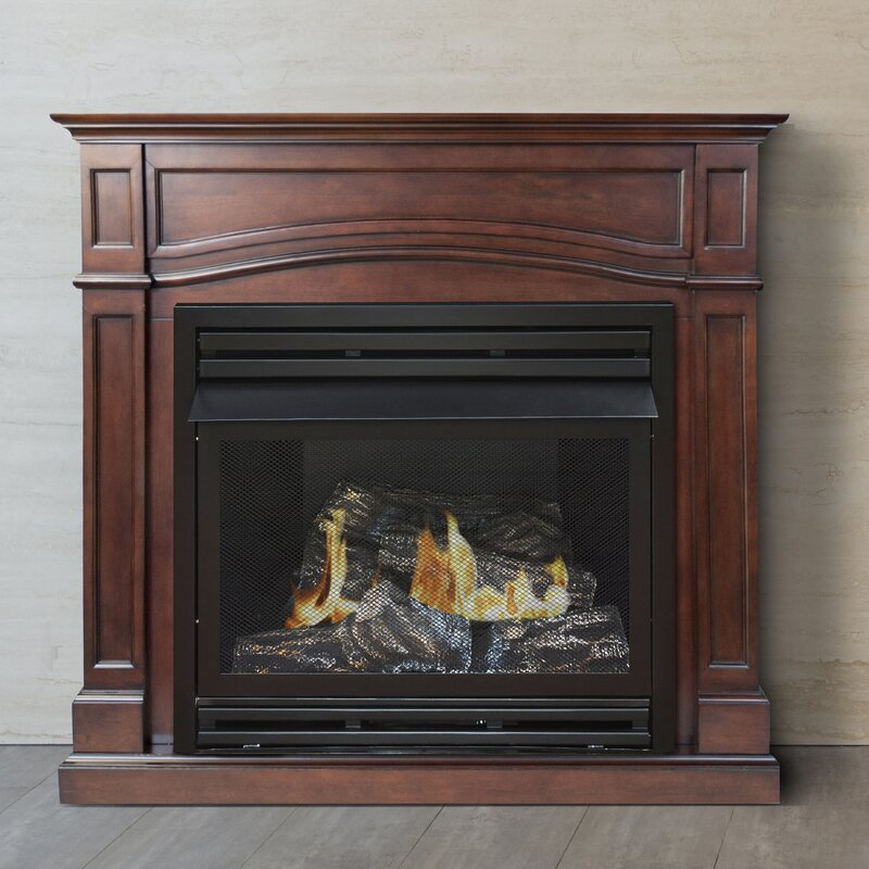 Pleasant Hearth Dual Fuel Vent Free Gas Fireplace & Reviews | Wayfair