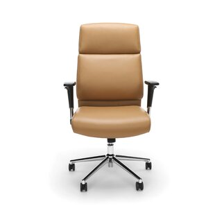 Hoxton Ergonomic Genuine Leather Task Chair