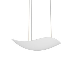 Orren Ellis Roberta 1-Light LED Bowl Pendant