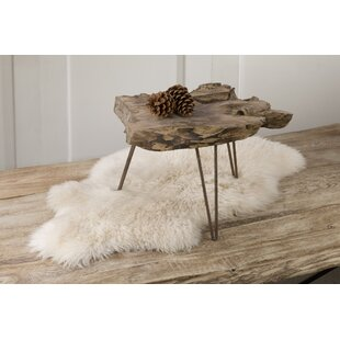 Union Rustic Theisen Small Driftwood End Table