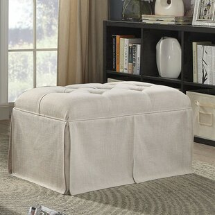 Beatty Tufted Fabric Upholstered Storage Bench