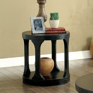 Haywood Transitional End Table by Red Barrel Studio