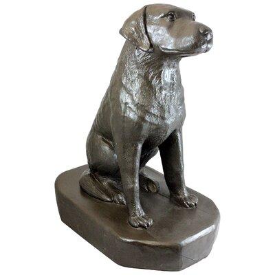 Digirolamo Sitting Labrador Statue
