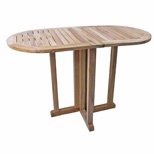 Sturdevant Folding Teak Bistro Table Image