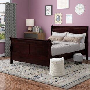 Fowey Queen Sleigh Bed by Latitude Run