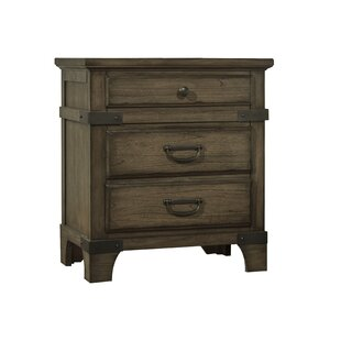 Grenshaw 3 Drawer Nightstand by Loon Peak Great Reviews