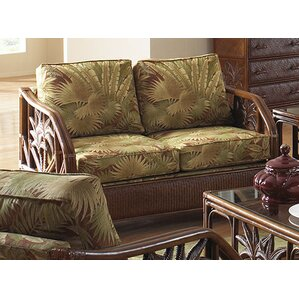 Cypress Loveseat with Cushions by Bay Isle Home