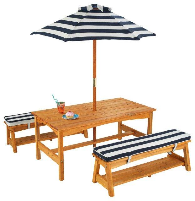 Kids 4 Piece Table U0026 Chair Set