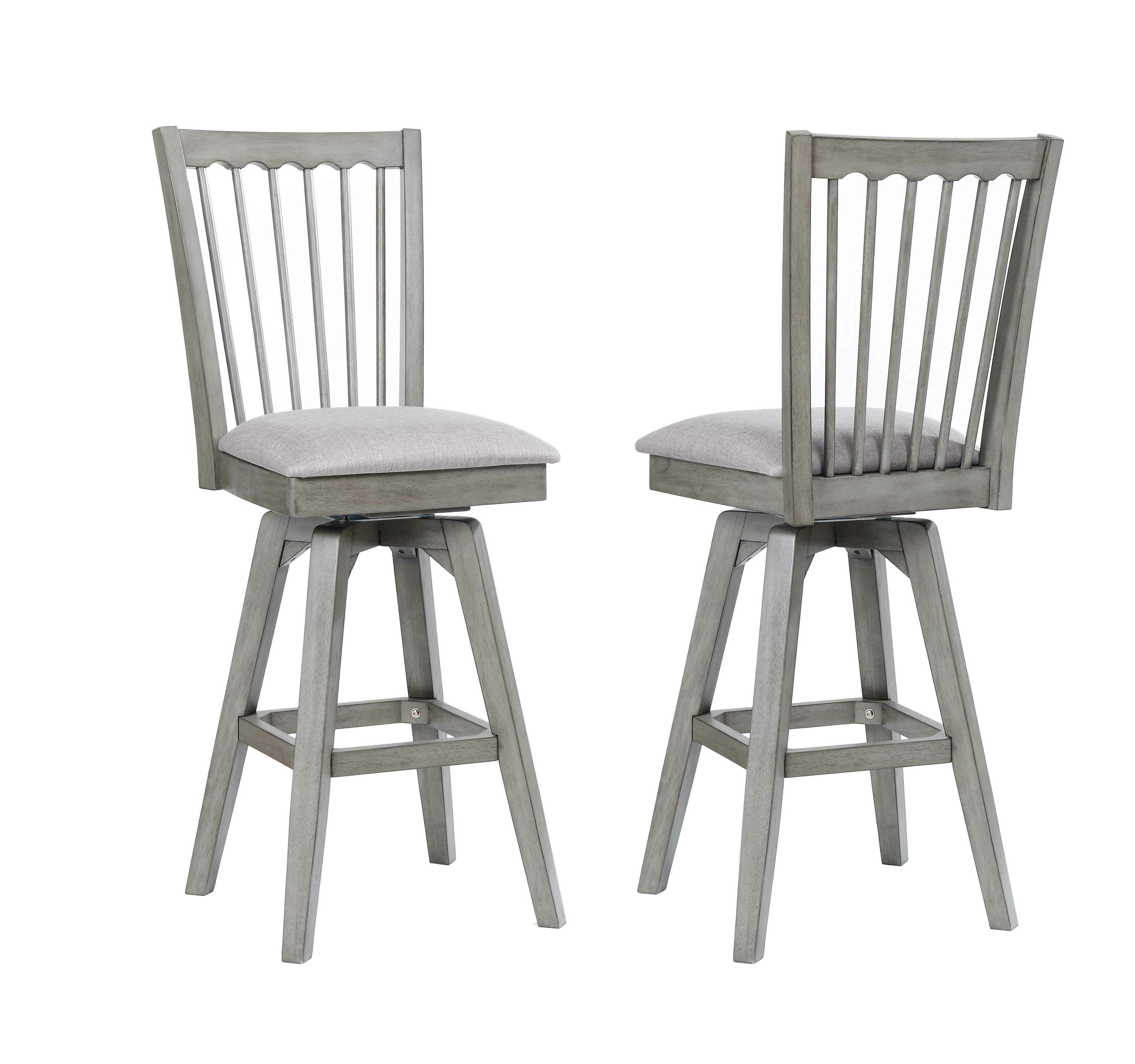 Amazing Vergara Spindle Back 28 Swivel Bar Stool Evergreenethics Interior Chair Design Evergreenethicsorg