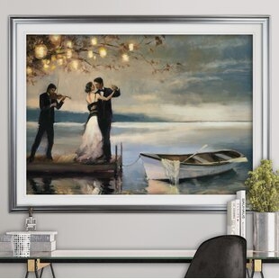 Framed art youll love wayfair twilight romance oil painting print by alcott hill gumiabroncs Image collections