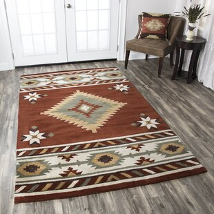 Eastman Hand woven/Tufted Wool Area Rug by Millwood Pines