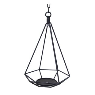 Wrought Studio Hanging Geometric Metal Lantern