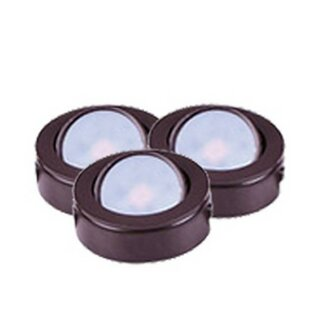 Maxim Lighting CounterMax LED Under Cabinet Puck Light (Set of 3)