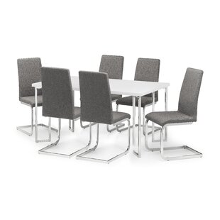 Wicklund Dining Set With 6 Chairs By Metro Lane