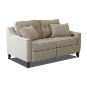 Logan Reclining Loveseat by Wayfair Custom Upholstery?
