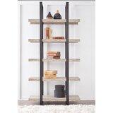 Albin 80 x 40 W Metal Etagere Bookcase by Ebern Designs