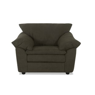 Latitude Run Olive Armchair