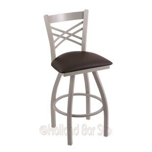 Daniela 36 Swivel Bar Stool by Alcott Hill