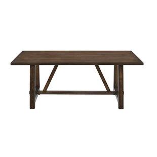 Eller Trestle Dining Table by Gracie Oaks