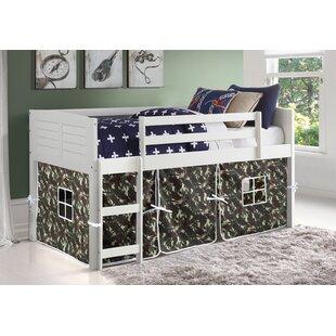 Winona Twin Low Loft Bed by Zoomie Kids