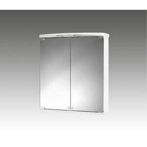 60 cm x 66 cm Spiegelschrank Ampado with LED Lig..