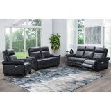 Aruther 3 Piece Reclining Living Room Set by Red Barrel Studio®