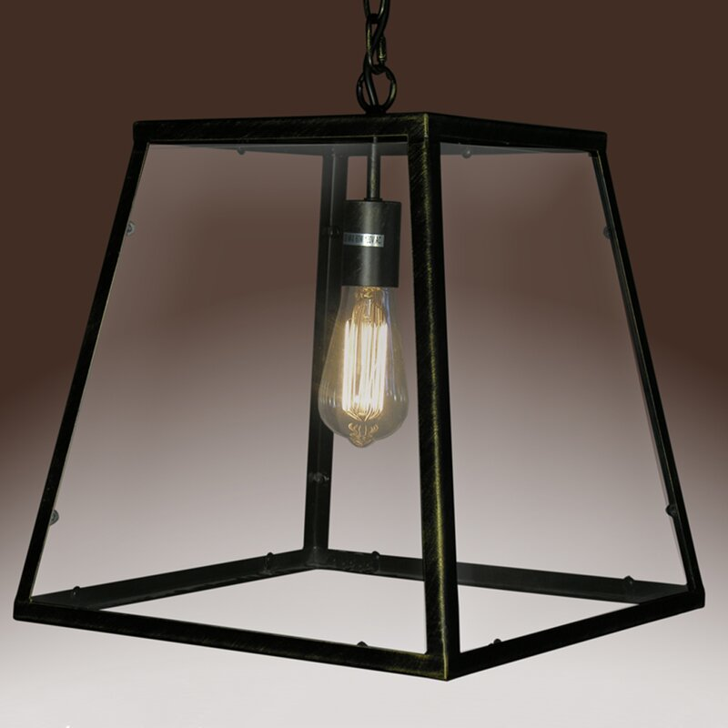 Breakwater Bay Lismore 1 Light Single Geometric Pendant Wayfair