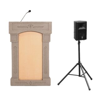 Dan James Original Accent Davinci Presenter Podium by Accent Lecterns