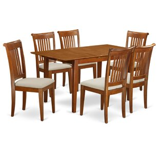 Katie 7 Piece Extendable Dining Set by Al..