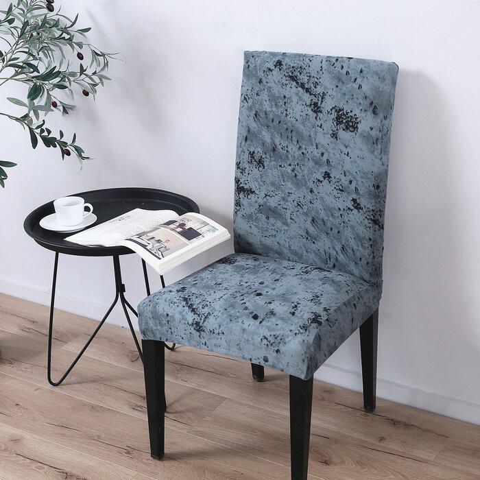 Fabulous Spandex Fabric Stretch Box Cushion Dining Chair Slipcover Uwap Interior Chair Design Uwaporg