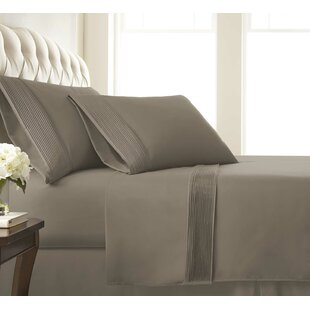 Eldon Extra Deep Pocket Pleated Sheet Set