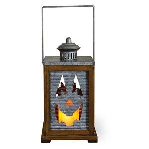 Galvanized Jack Rectangle Lantern