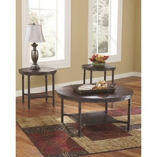 Williston Forge Kirkby 3 Piece Coffee Table Set