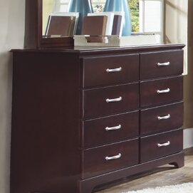 Signature Tall 8 Drawer Standard Dresser Chest