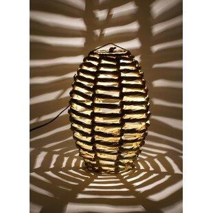 Bungalow Rose Blaire Beehive 1-Light Geometric Pendant