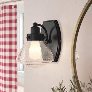 Best Deals Ann Metal 1-Light Bath Sconce ByLaurel Foundry Modern Farmhouse
